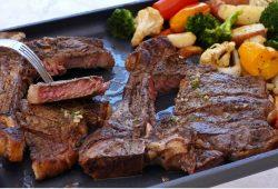 Sheet Pan Steak and Vegetables