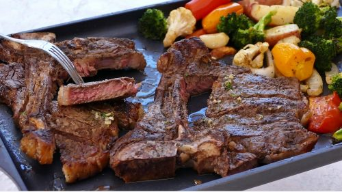 Sheet Pan Steak and Vegetables