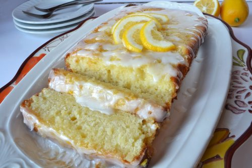 Lemon Cream Loaf Cake