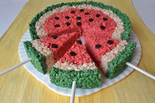 Rice Krispies Watermelon