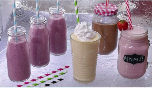 Fruit and Pudding Smoothies