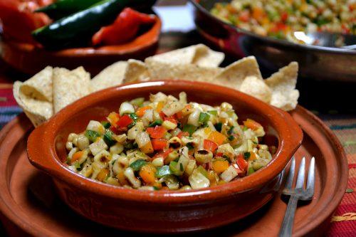 Southwestern Grilled Corn Salsa
