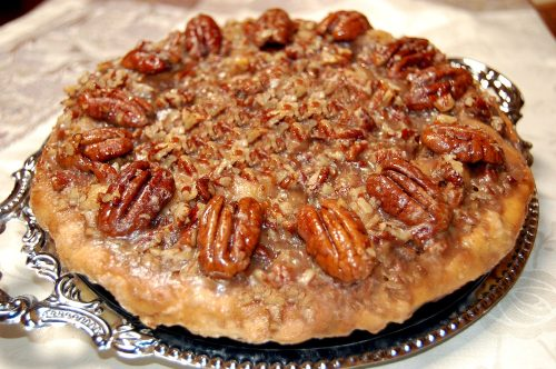 Apple and Pecan Pie