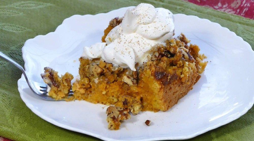 Recipes Yellow Cake Mix Pumpkin