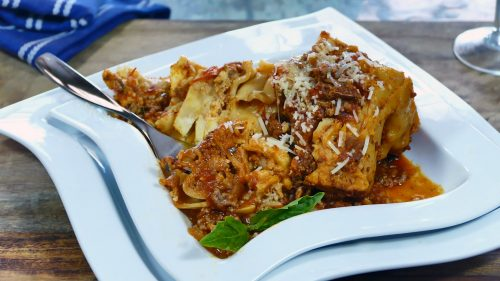Crock Pot Lasagna