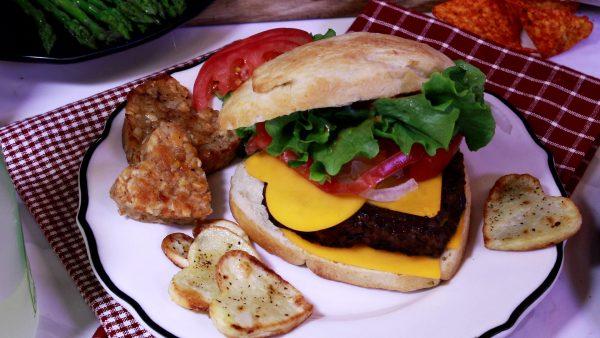 The Sweetheart Burger!