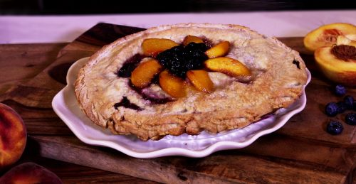 PEACH-A-BERRY-PIE