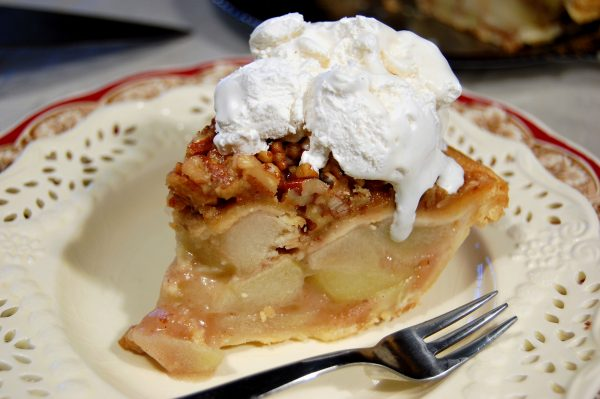 PRALINE APPLE PIE!