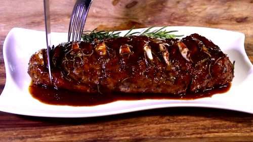 Pork Tenderloin with Citrus Soy Glaze
