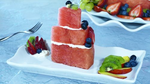 SLICE OF Watermelon CAKE