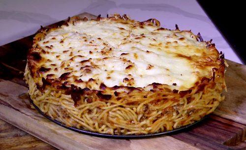 Baked Spaghetti Pie (1)