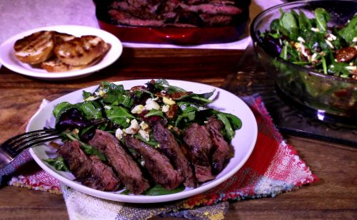 Steak Salad with Dijon Dressing (1)
