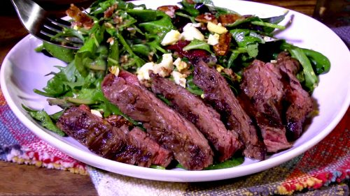 Steak Salad with Dijon Dressing (2)