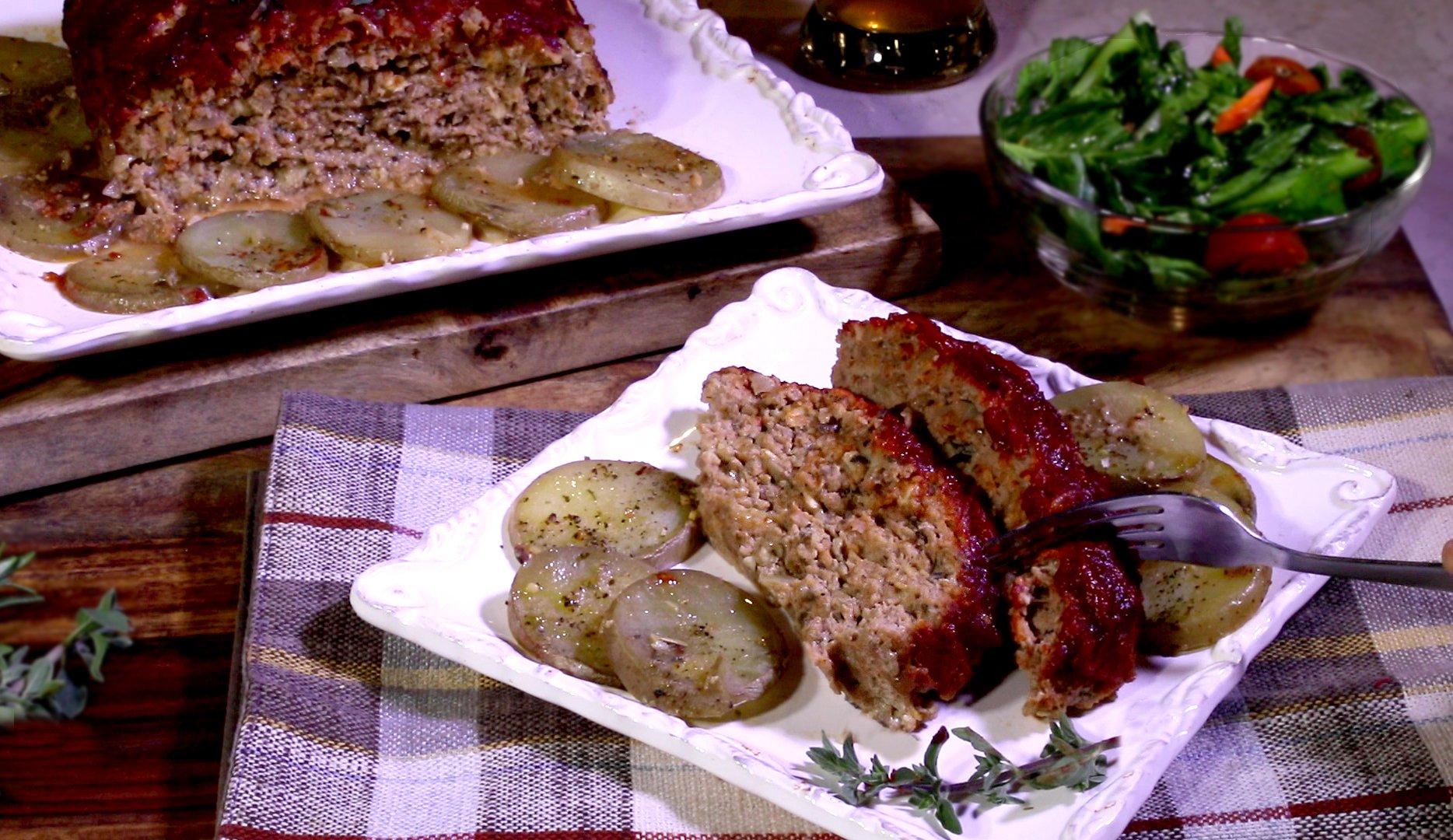 Turkey Meatloaf   Jan D'Atri