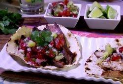 Island Grilled Steak Tacos
