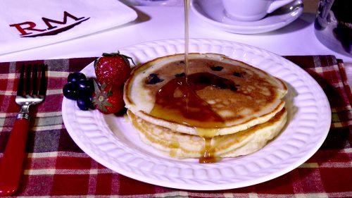 Blueberry Protein Pancakes