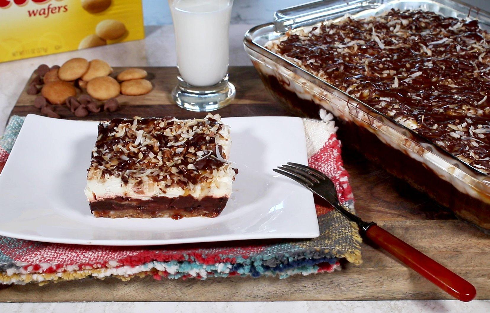 samoa dessert lasagne jan d amp  atri