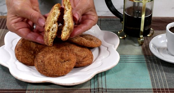 Cheesecake Snickerdoodles